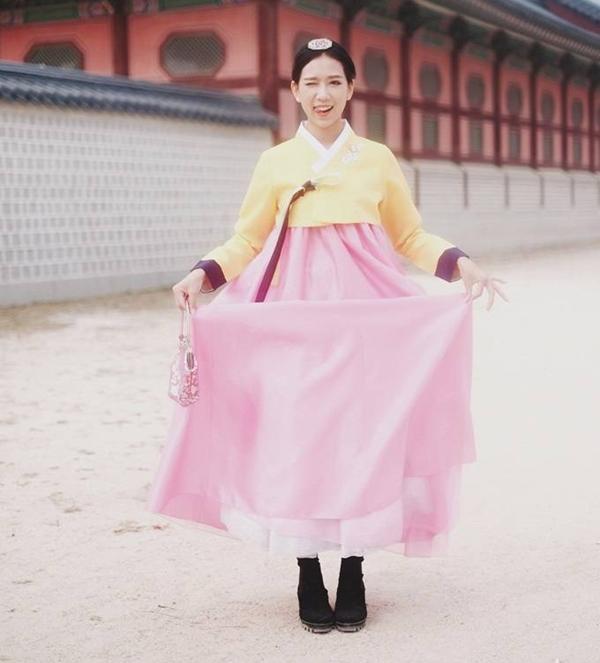 áo hanbok hàn quốc