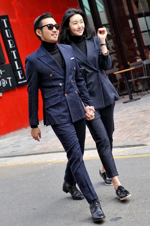 áo khoác đôi hàn quốc