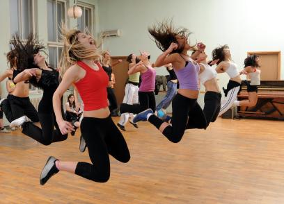 Thể dục nhịp điệu giúp giảm cân nhanh 2
