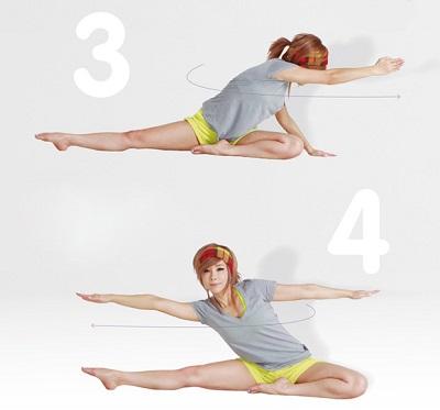 Vòng 2 thon gọn với 4 bài tập đơn giản tại nhà