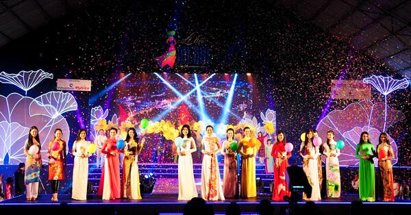 Buổi bế mạc lễ hội Áo dài TP.HCM lần thứ 5 đã diễn ra thành công