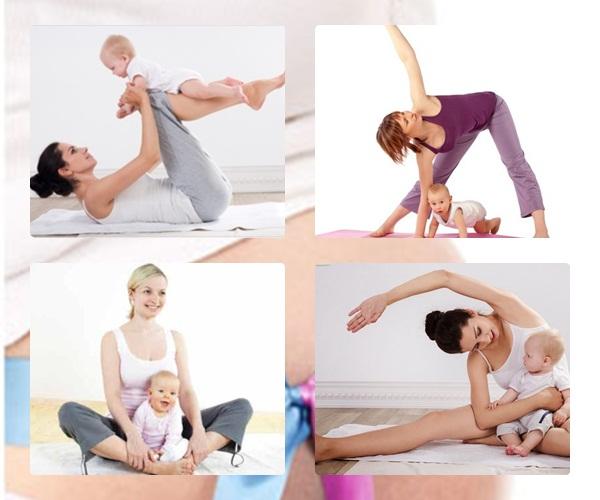giảm cân sau khi sinh