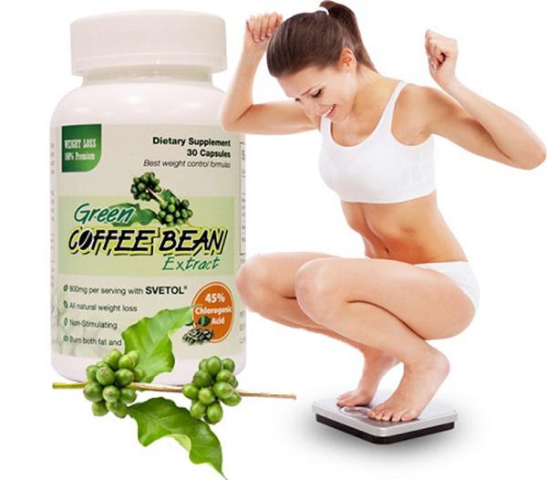 Hộp green coffee bean 30 viên