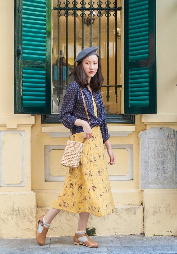 Mặc đồ theo phong cách vintage 2