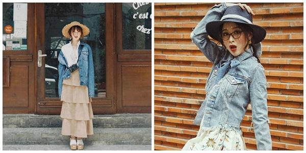 mặc đồ theo phong cách vintage đẹp 2