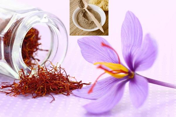 Mặt nạ nhụy hoa nghệ tây cho da nhờn