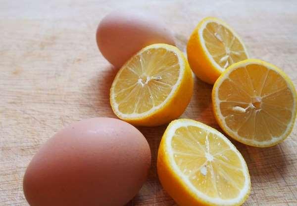 Chăm sóc da bằng trứng gà và chanh tại nhà