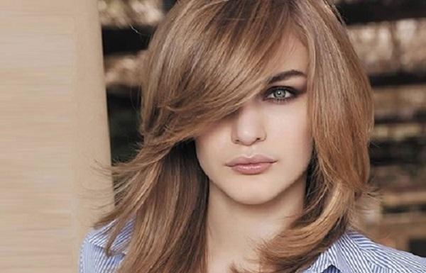 Kiểu tóc phù hợp với mặt vuông