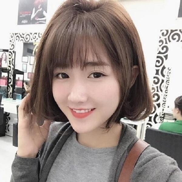Kiểu tóc phù hợp cho khuôn mặt dài