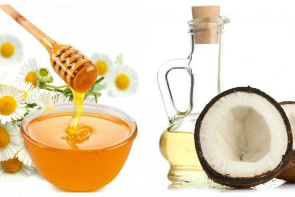 Mặt nạ tinh bột nghệ mật ong và tinh dầu dừa
