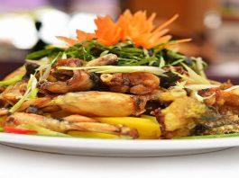 Hướng dẫn 3 cách nấu món ếch xào sả ớt ăn cực tốn cơm