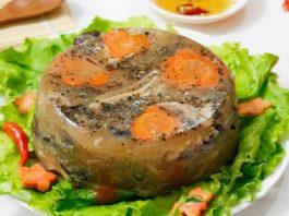 Cách nấu món thịt đông khiến ai cũng phải gật gù khen ngon