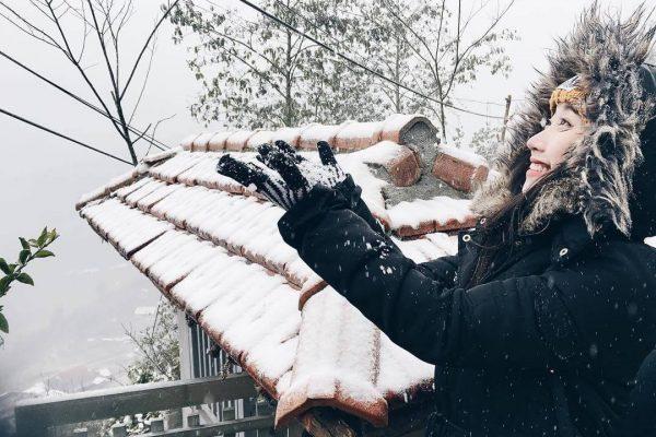 Ghé thăm Sapa vào mùa lạnh, bạn nên chuẩn bị đầy đủ quần áo ấm
