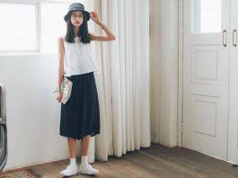 13 cách phối đồ với chân váy dài cực đẹp và trẻ trung