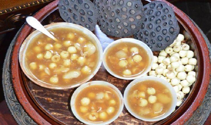 Bật mí 3 cách nấu chè hạt sen đơn giản giải nhiệt mùa hè