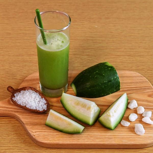Thực đơn giảm cân bằng nước ép trái cây - bí đao
