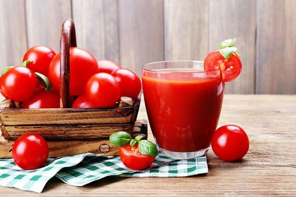 Thực đơn giảm cân bằng nước ép trái cây - cà chua