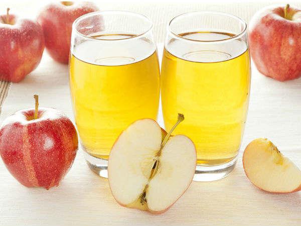 Thực đơn giảm cân bằng nước ép trái cây táo